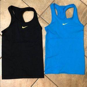 Nike Dri-Fit Tanks Lot of 2